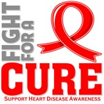 Heart Disease Fight For A Cure Shirts