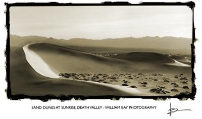 Dunes at Sunrise, Death Valley