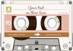 Cassette Tape - Tan