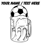 Custom Soccer Ball Beer