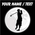 Custom Golfer Moon