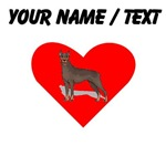 Custom Doberman Heart