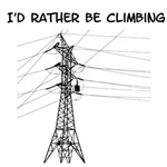 I'd Rather Be Climbing for light items