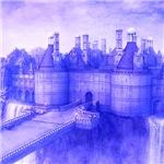 the castle, 3 colors
