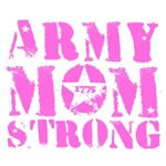 Army Mom Strong 1775 Pink