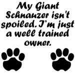Well Trained Giant Schnauzer Owner