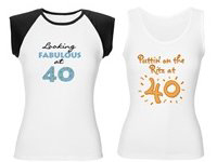 40th Birthday T-shirts, Mugs, Gifts