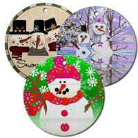 Snowman Holiday Ornaments