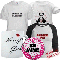 Valentine's Day T-shirts and Gifts