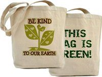 Environmental Awareness Shopping Bags!