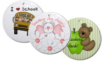 School Keepsake Ornaments