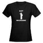 Got Migraine White Logo Clothing