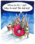What Reindeer do...