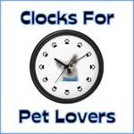 Clocks For Pet Lovers