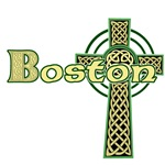 Boston Celtic Cross T-Shirts