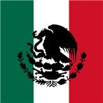 Mexican Flag Silhouette