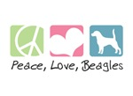 Peace, Love, Beagles