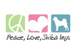 Peace, Love, Shiba Inus