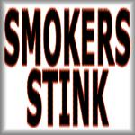 Smokers stink