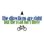 The directions are right.....