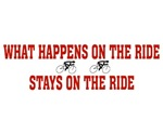 What happens on the ride....