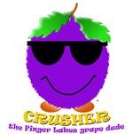 Crusher, the Finger Lakes grape dude