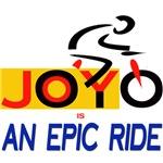 JOY is an epic ride