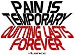 Pain vs Quitting