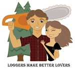 Loggers Make Better Lovers - Brunette