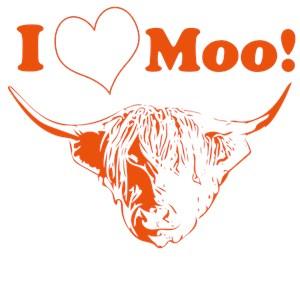 I Love Moo Highland Cow