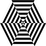 Striped Hexagon