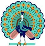 Burmese Peacock Symbol