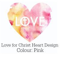 Love for Christ Heart Design