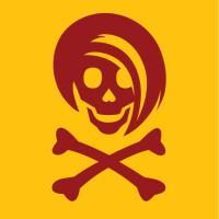 Red Li'l Spice Girlie Skull