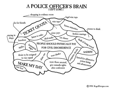 A Police Officer's Brain