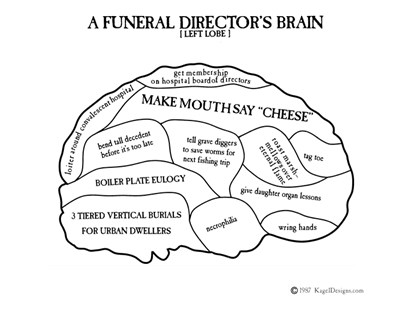 A Funeral Director's Brain