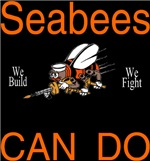 Seabees Can Do Black