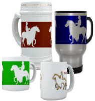Paso Fino Mugs, Stiens and Travel Mugs