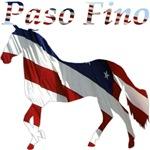 Patriotic Paso Fino