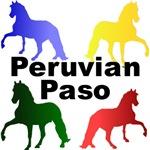 Peruvian Paso Colors
