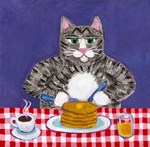 Cat and Pancakes