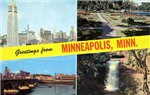 1950's Greetings from Minneapolis