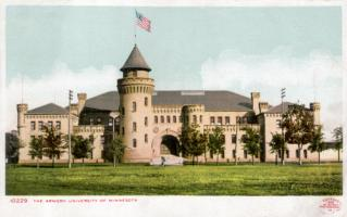 The Armory at the University of Minnesota, 1905