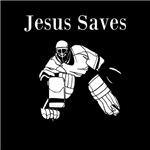 Jesus Saves - Hockey 4