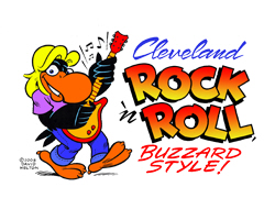 Cleveland Rock n' Roll Buzzard Style.