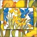 Dafodils and Iris