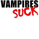Vampires Suck T-shirts, Clothing & Gifts