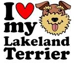 I Love My Lakeland Terrier