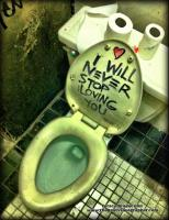Graffiti Toilet -
