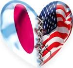 Japan & USA Broken heart